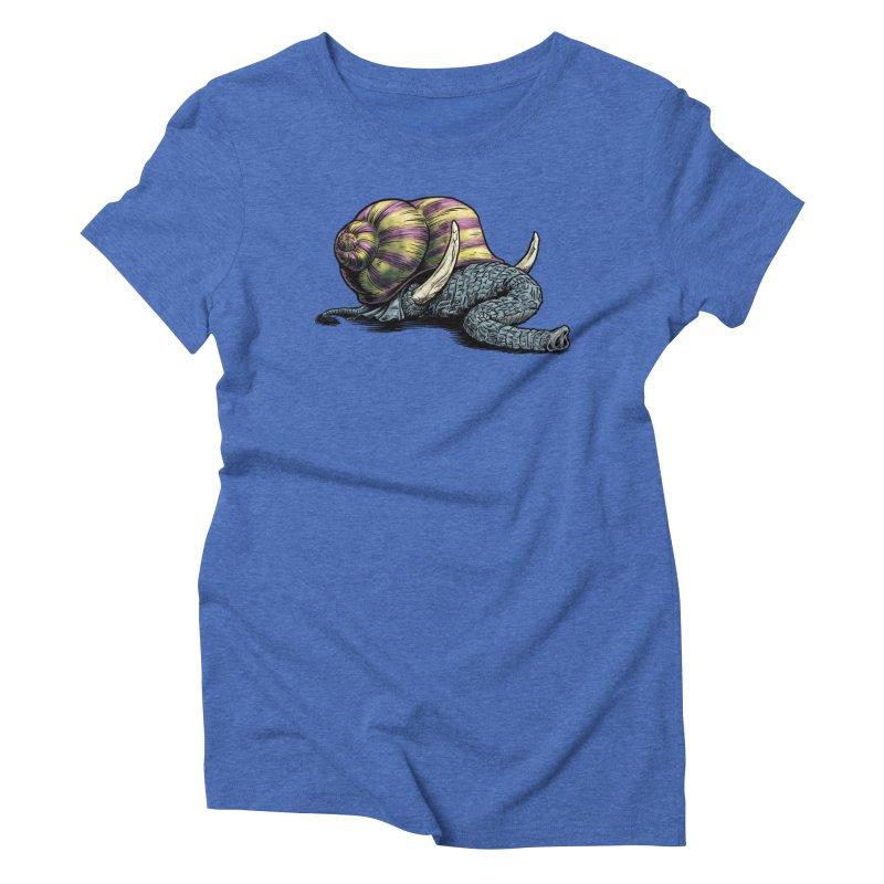 Shellephant Women's Triblend T-Shirt by Octophant's Artist Shop