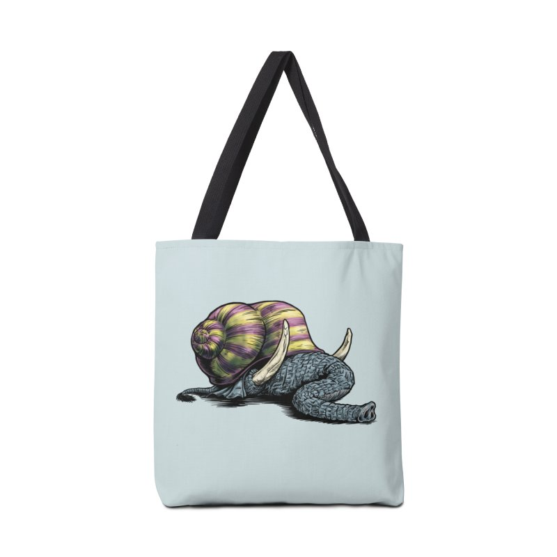 Shellephant Accessories Tote Bag Bag by Octophant's Artist Shop