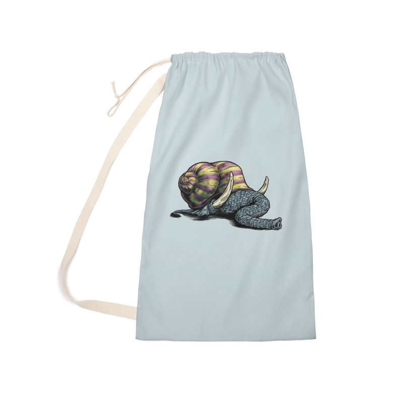 Shellephant Accessories Laundry Bag Bag by Octophant's Artist Shop