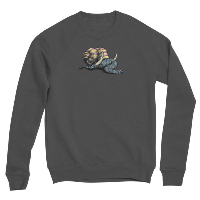 Shellephant Men's Sponge Fleece Sweatshirt by Octophant's Artist Shop