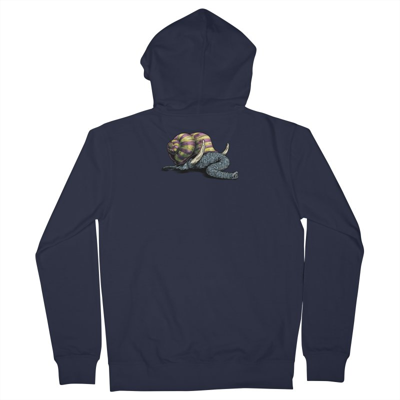 Shellephant Women's French Terry Zip-Up Hoody by Octophant's Artist Shop