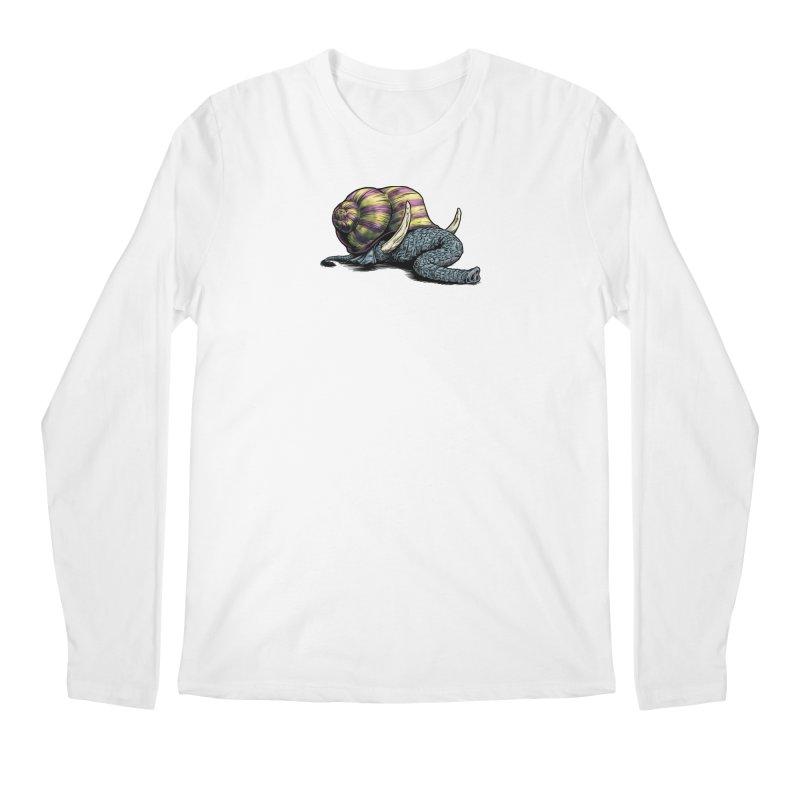 Shellephant Men's Regular Longsleeve T-Shirt by Octophant's Artist Shop
