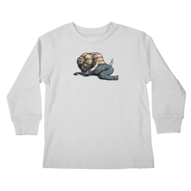 Shellephant Kids Longsleeve T-Shirt by Octophant's Artist Shop