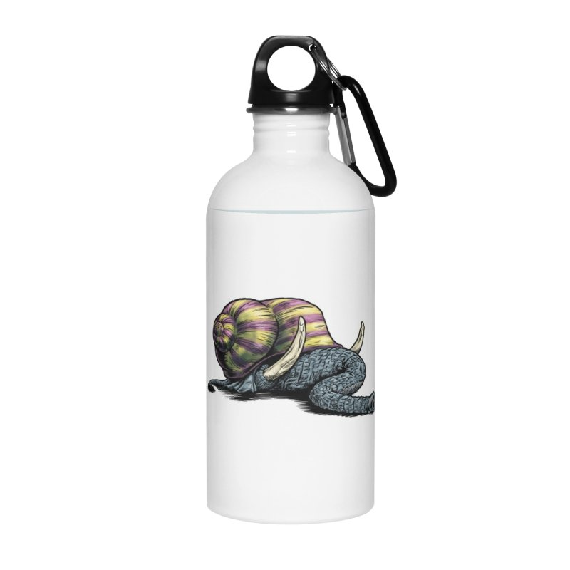 Shellephant Accessories Water Bottle by Octophant's Artist Shop