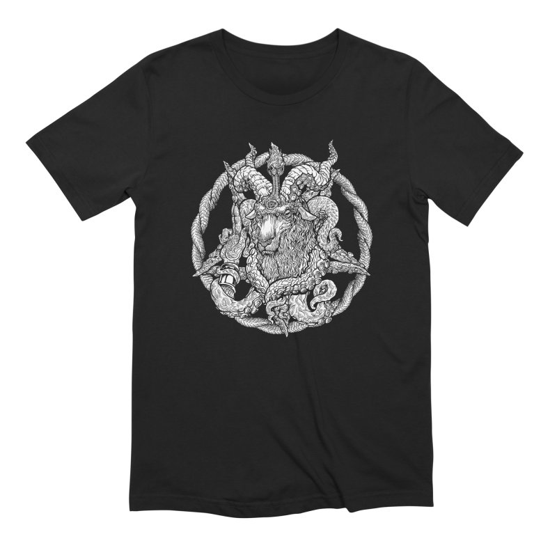 Baphothulhumet Men's Extra Soft T-Shirt by Octophant's Artist Shop