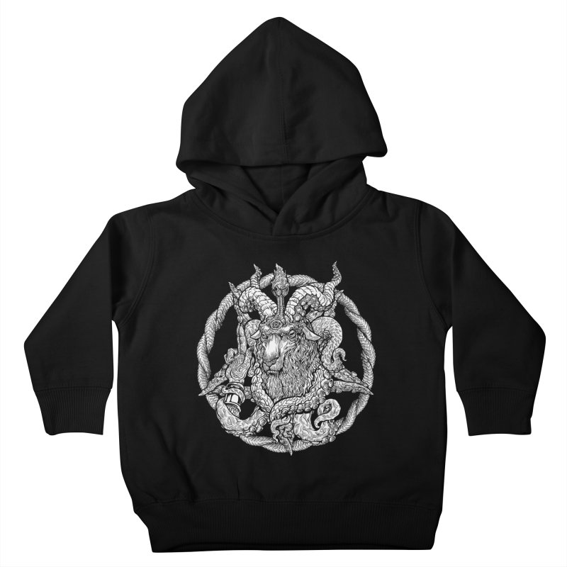 Baphothulhumet Kids Toddler Pullover Hoody by Octophant's Artist Shop