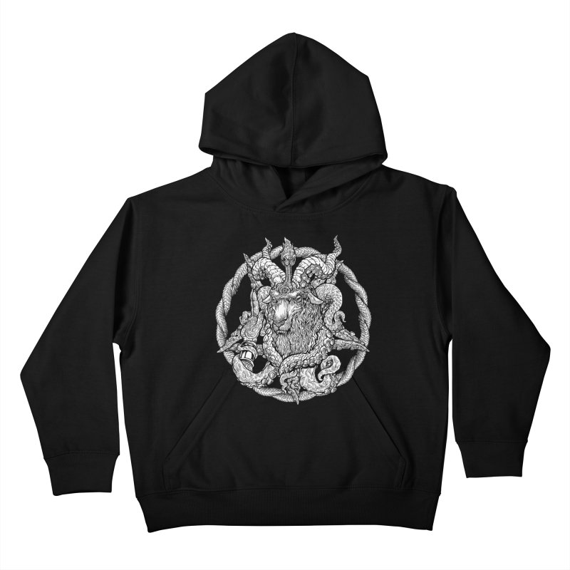 Baphothulhumet Kids Pullover Hoody by Octophant's Artist Shop