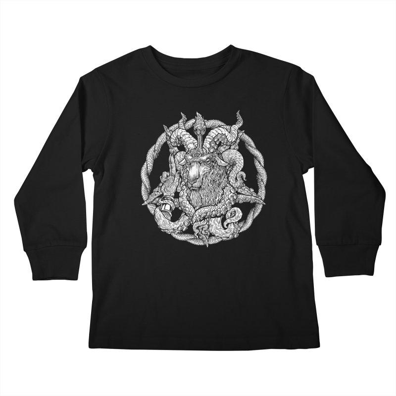 Baphothulhumet Kids Longsleeve T-Shirt by Octophant's Artist Shop
