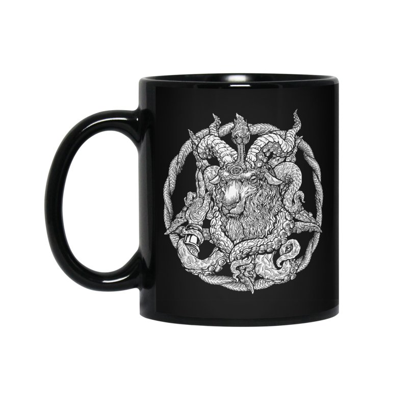 Baphothulhumet Accessories Standard Mug by Octophant's Artist Shop
