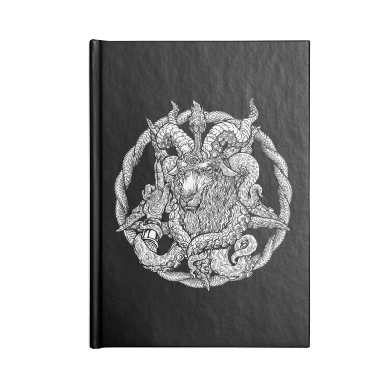 Baphothulhumet Accessories Notebook by Octophant's Artist Shop