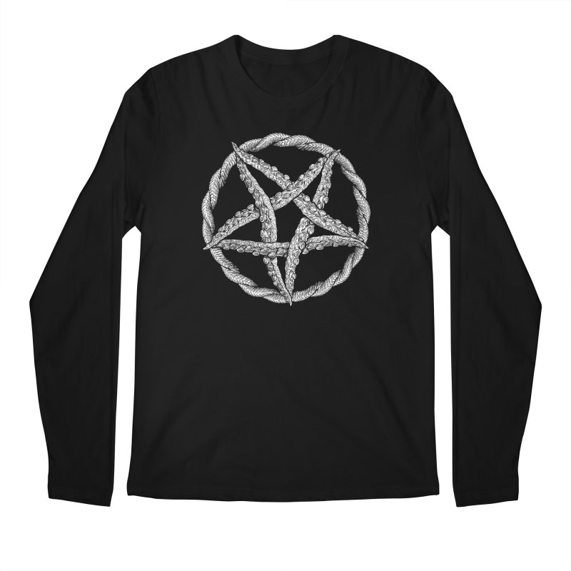 Tentagram Men's Regular Longsleeve T-Shirt by Octophant's Artist Shop