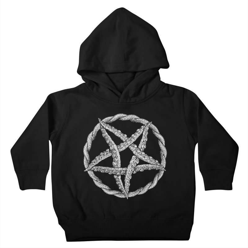 Tentagram Kids Toddler Pullover Hoody by Octophant's Artist Shop