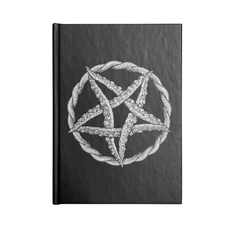 Tentagram Accessories Notebook by Octophant's Artist Shop