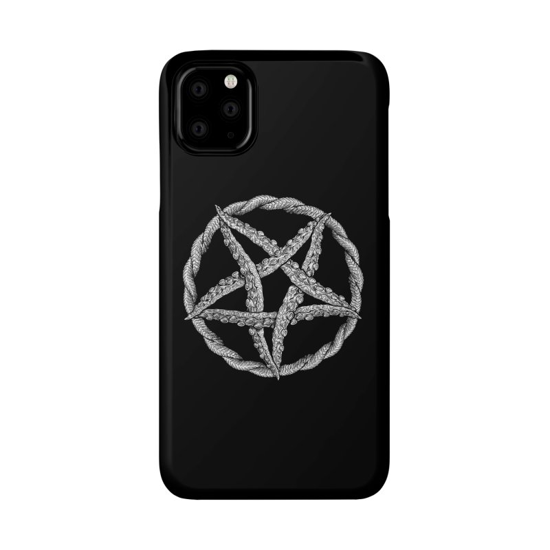 Tentagram Accessories Phone Case by Octophant's Artist Shop