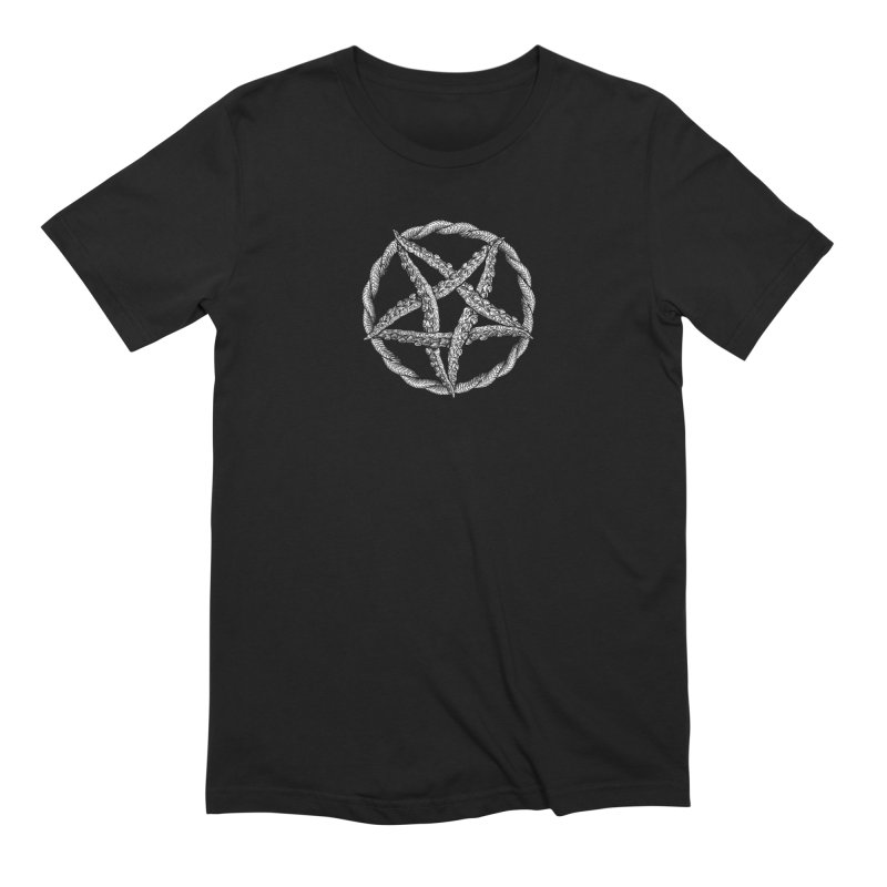 Tentagram Men's Extra Soft T-Shirt by Octophant's Artist Shop