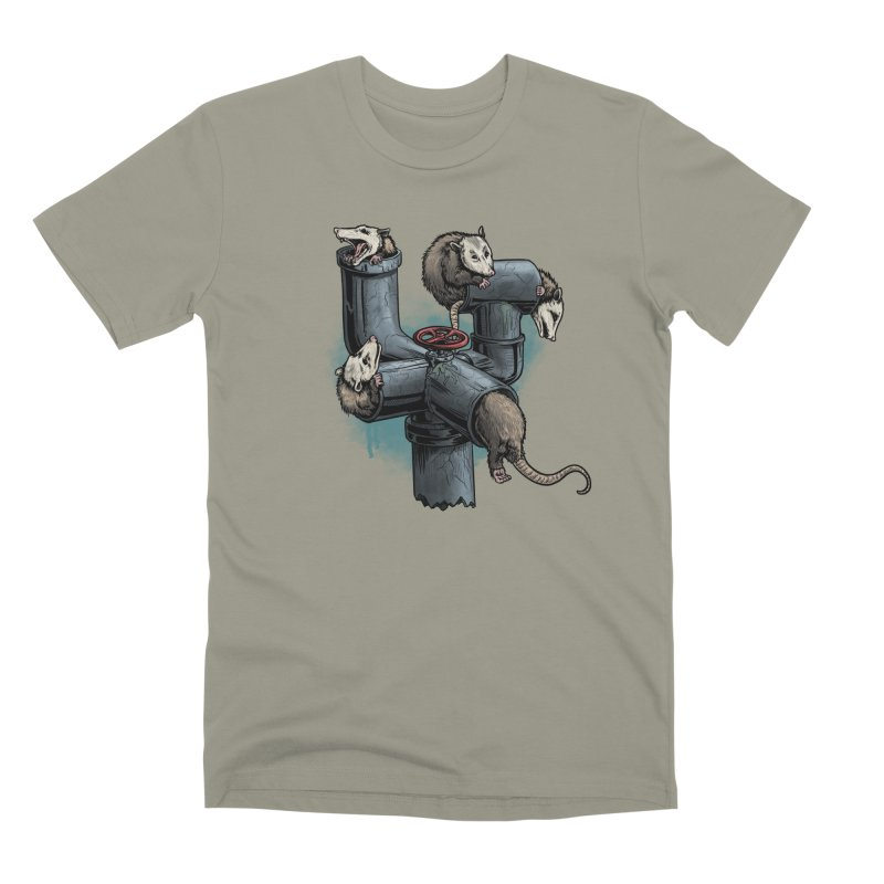Possum Pipe Men's Premium T-Shirt by Octophant's Artist Shop