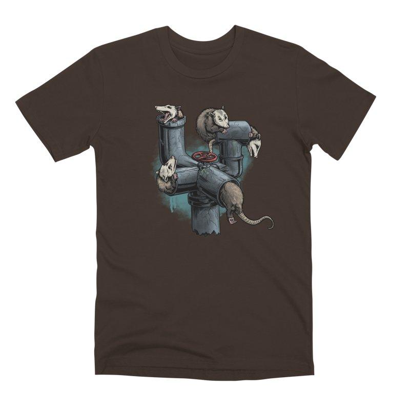 Possum Pipe Men's Premium T-Shirt by Octophant's Artist Shop