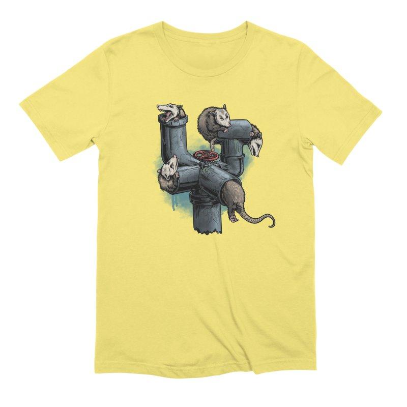 Possum Pipe Men's Extra Soft T-Shirt by Octophant's Artist Shop