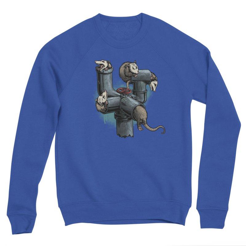 Possum Pipe Men's Sponge Fleece Sweatshirt by Octophant's Artist Shop