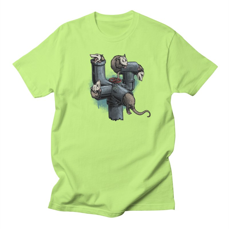 Possum Pipe Women's Regular Unisex T-Shirt by Octophant's Artist Shop