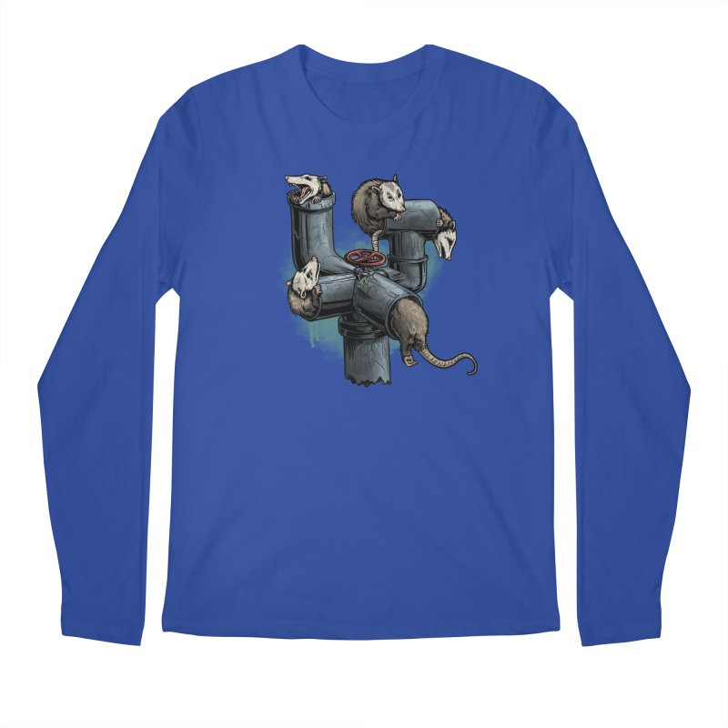 Possum Pipe Men's Regular Longsleeve T-Shirt by Octophant's Artist Shop