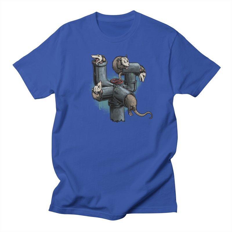 Possum Pipe Men's Regular T-Shirt by Octophant's Artist Shop