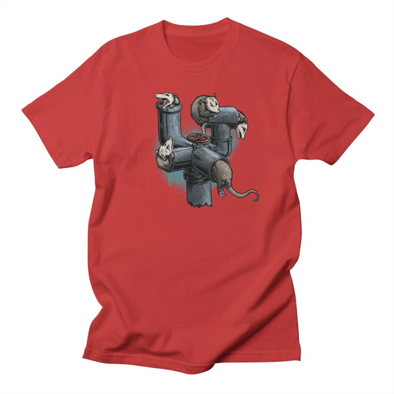Possum Pipe Women's Regular Unisex T-Shirt by Octophant's Artist Shop