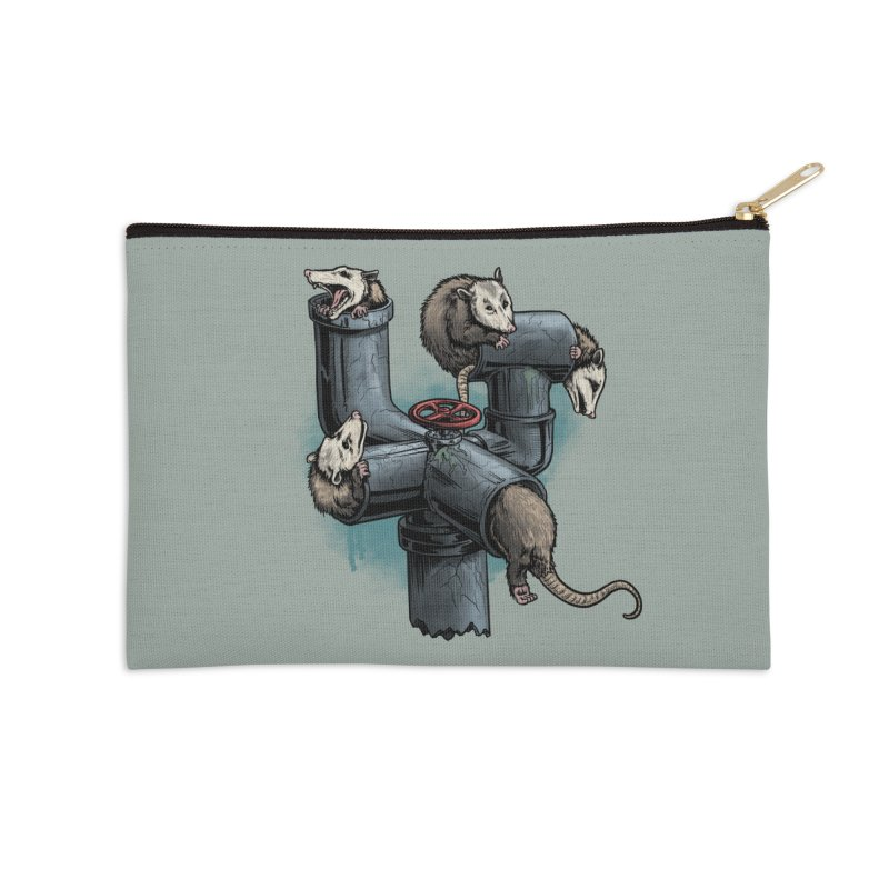 Possum Pipe Accessories Zip Pouch by Octophant's Artist Shop