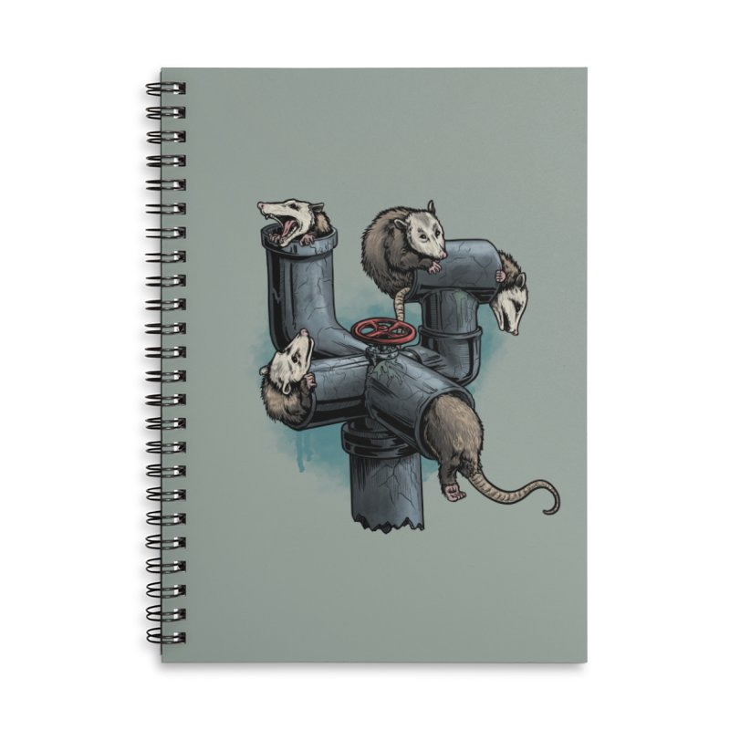Possum Pipe Accessories Notebook by Octophant's Artist Shop