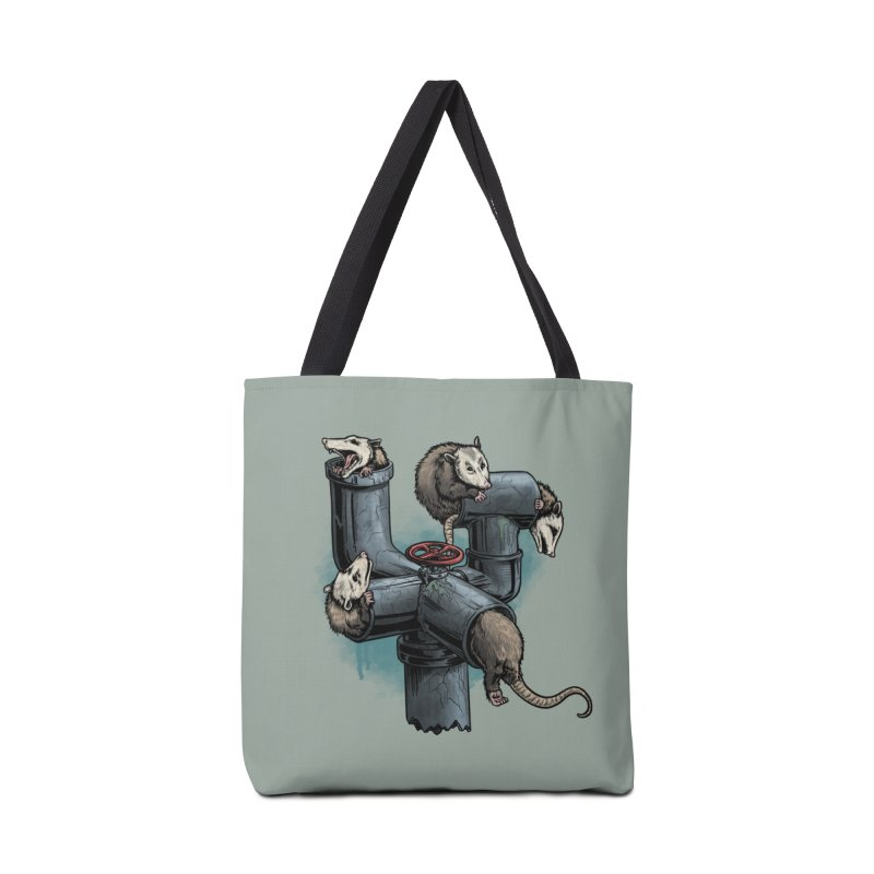 Possum Pipe Accessories Bag by Octophant's Artist Shop