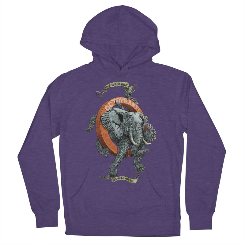 The Improbable Octophant Women's Pullover Hoody by Octophant's Artist Shop
