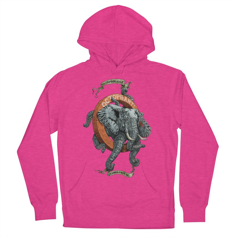 The Improbable Octophant Men's Pullover Hoody by Octophant's Artist Shop