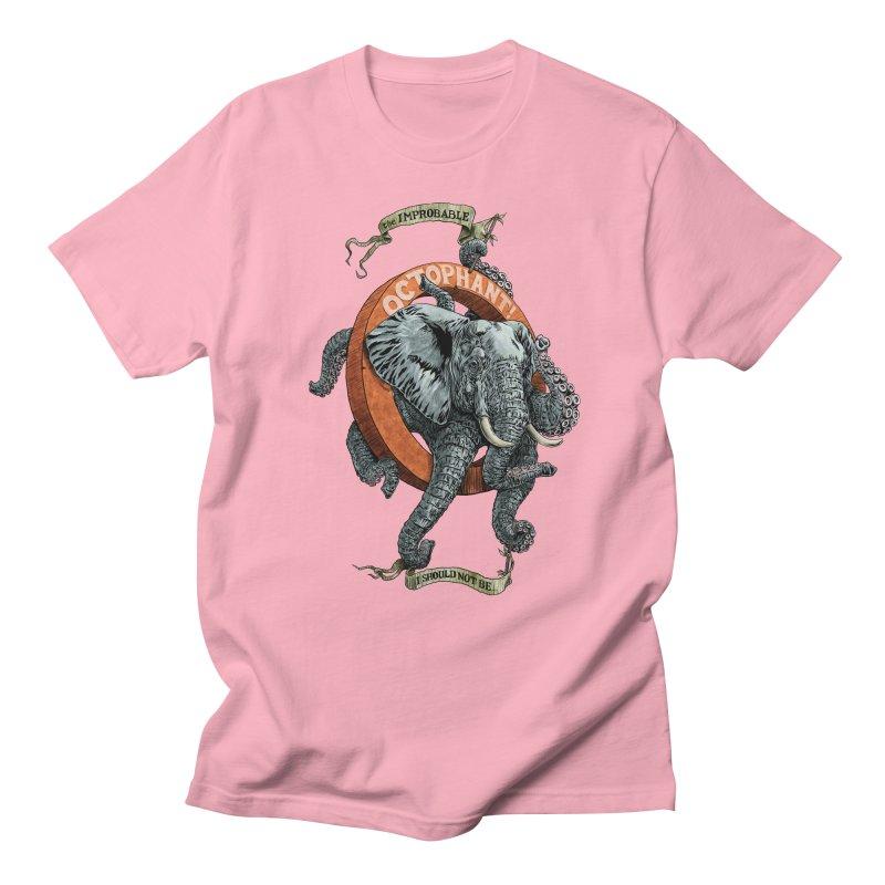 The Improbable Octophant Men's T-shirt by Octophant's Artist Shop