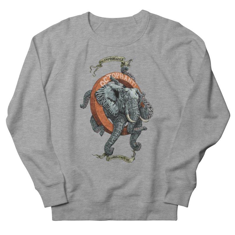 The Improbable Octophant Women's Sweatshirt by Octophant's Artist Shop