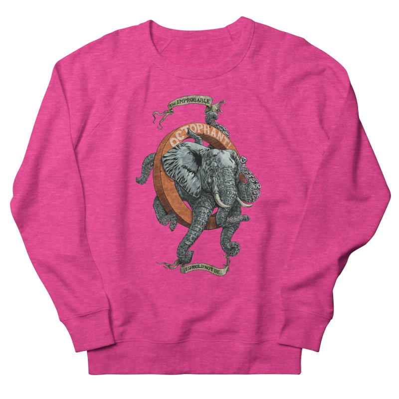 The Improbable Octophant Men's Sweatshirt by Octophant's Artist Shop