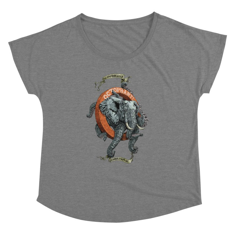 The Improbable Octophant Women's Dolman by Octophant's Artist Shop