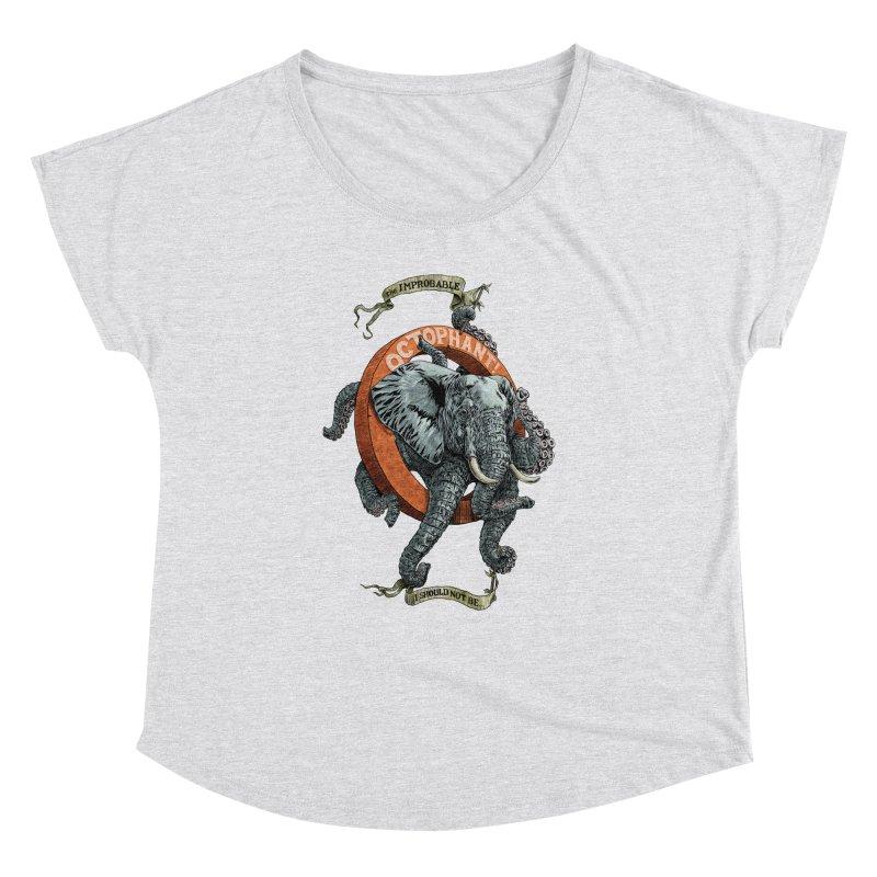 The Improbable Octophant Women's Dolman by Octophant's Artist Shop