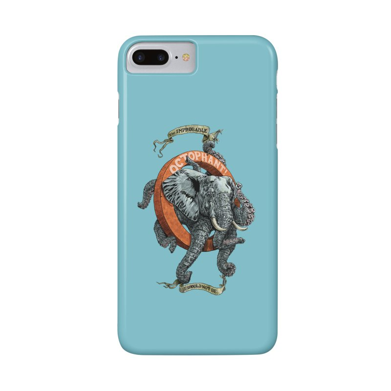 The Improbable Octophant Accessories Phone Case by Octophant's Artist Shop