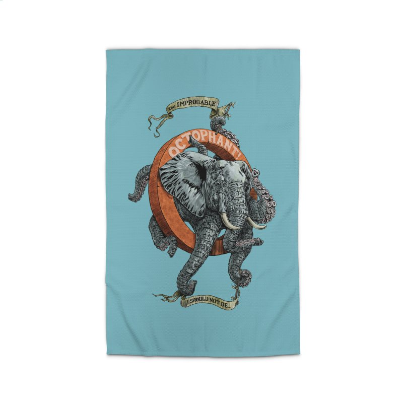 The Improbable Octophant Home Rug by Octophant's Artist Shop