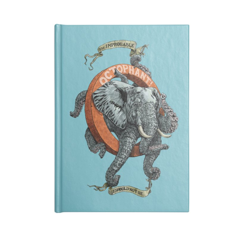The Improbable Octophant Accessories Notebook by Octophant's Artist Shop