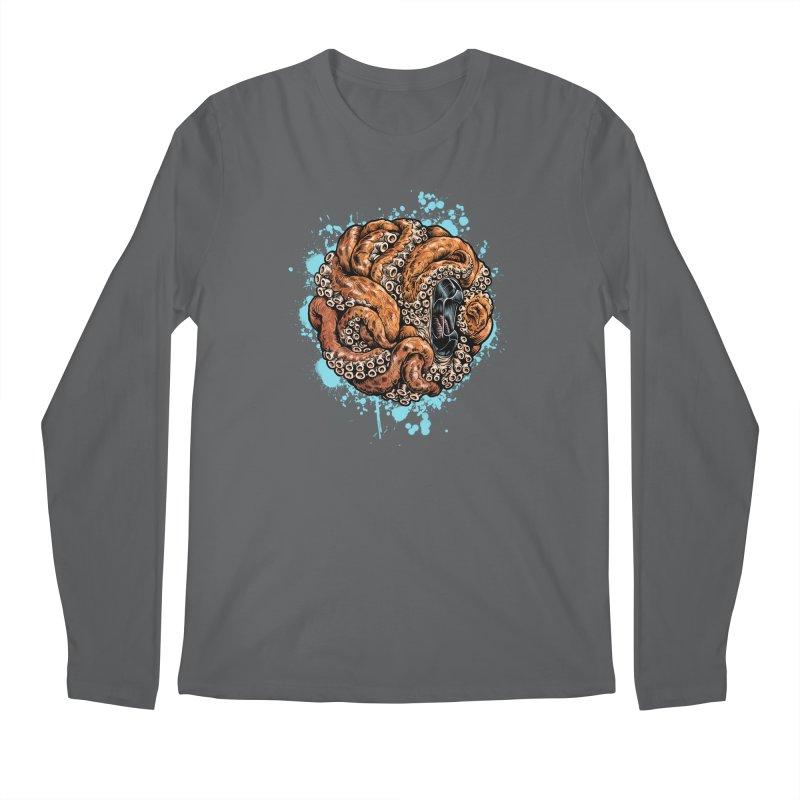 Orange Ball of Love Men's Regular Longsleeve T-Shirt by Octophant's Artist Shop