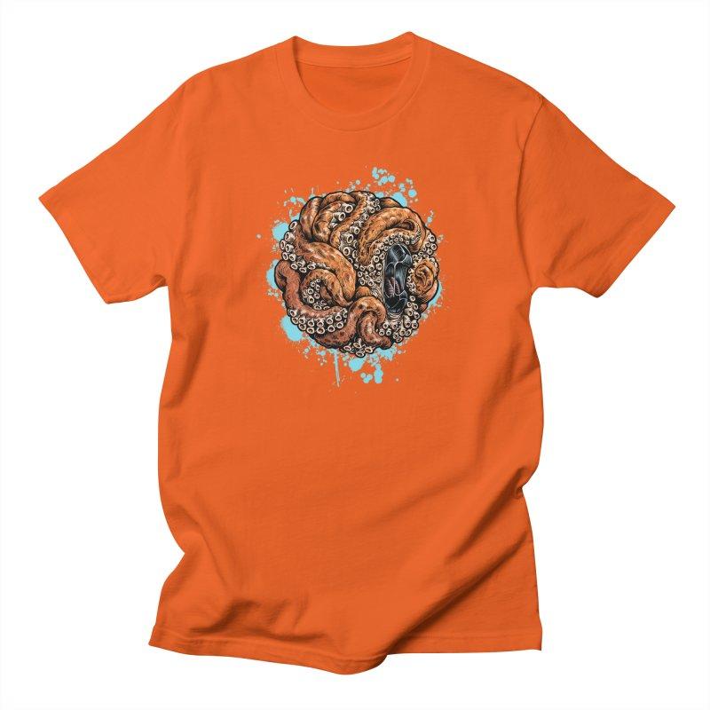Orange Ball of Love Women's Regular Unisex T-Shirt by Octophant's Artist Shop