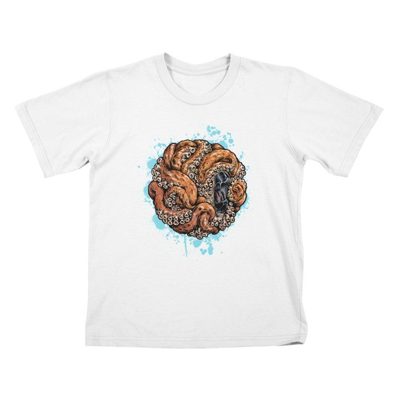 Orange Ball of Love Kids T-Shirt by Octophant's Artist Shop