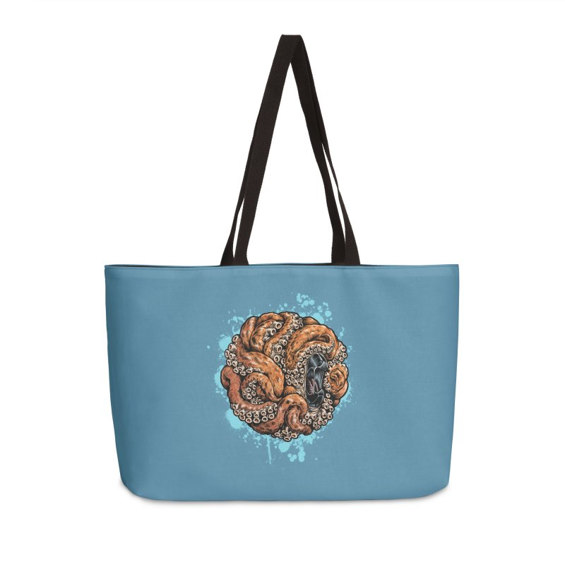 Orange Ball of Love Accessories Weekender Bag Bag by Octophant's Artist Shop