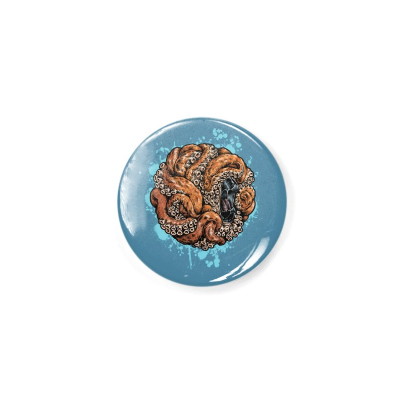 Orange Ball of Love Accessories Button by Octophant's Artist Shop