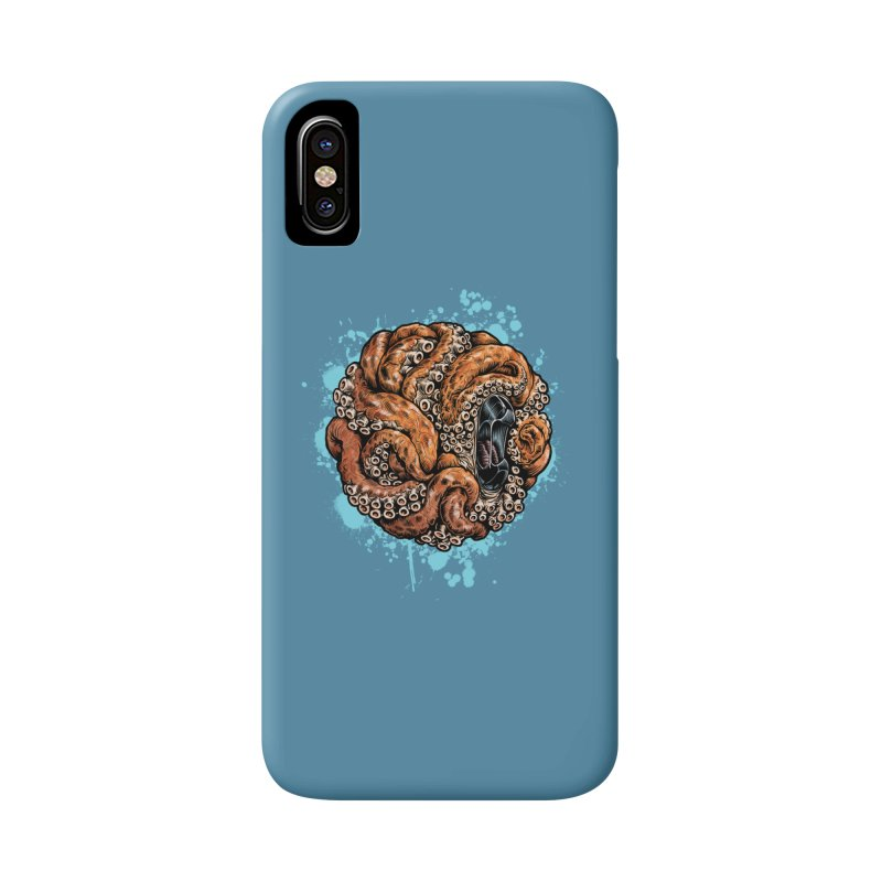 Orange Ball of Love Accessories Phone Case by Octophant's Artist Shop