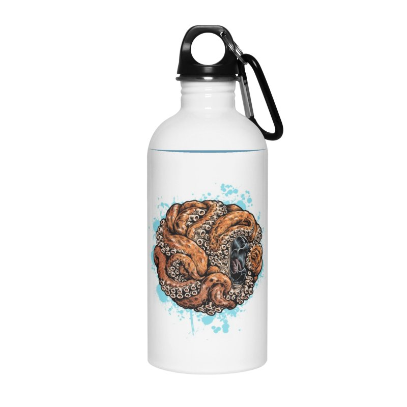 Orange Ball of Love Accessories Water Bottle by Octophant's Artist Shop