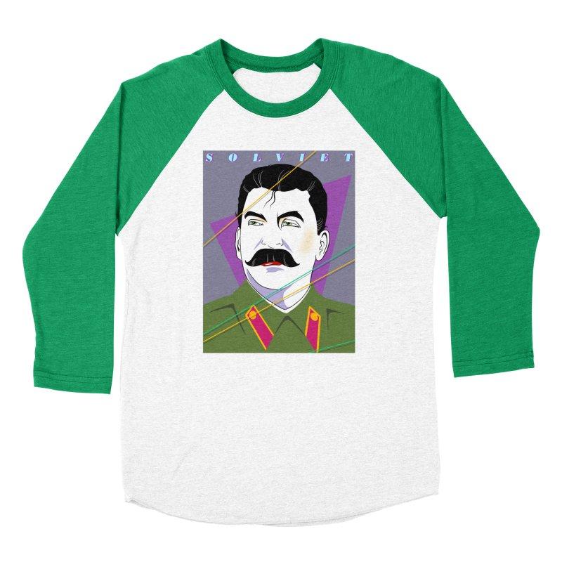 Solviet Nagel Women's Baseball Triblend Longsleeve T-Shirt by Octophant's Artist Shop