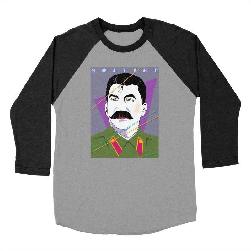 Solviet Nagel Men's Baseball Triblend Longsleeve T-Shirt by Octophant's Artist Shop