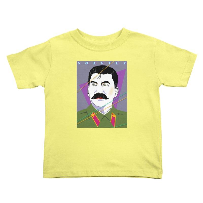 Solviet Nagel Kids Toddler T-Shirt by Octophant's Artist Shop